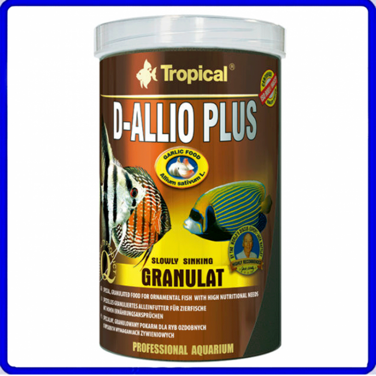 Tropical Ração D-Allio Plus Granulat 60g