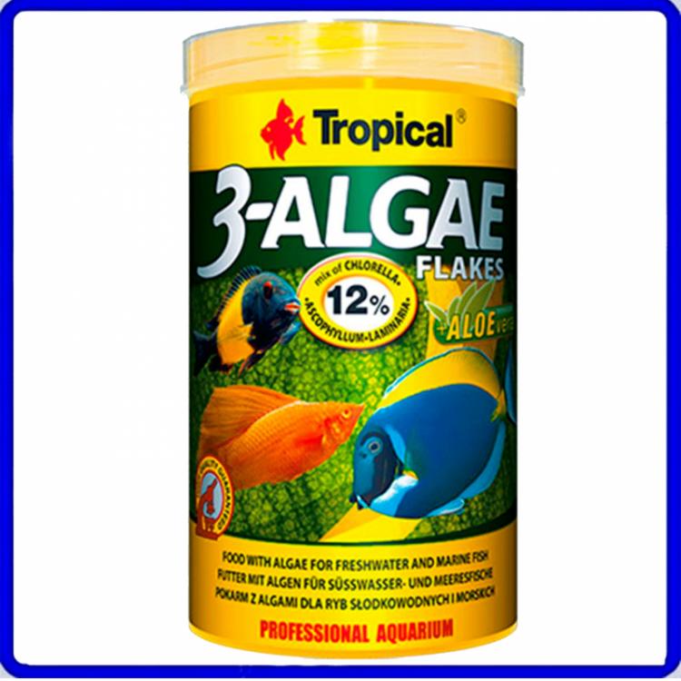 Tropical Ração 3-Algae Flakes 50g