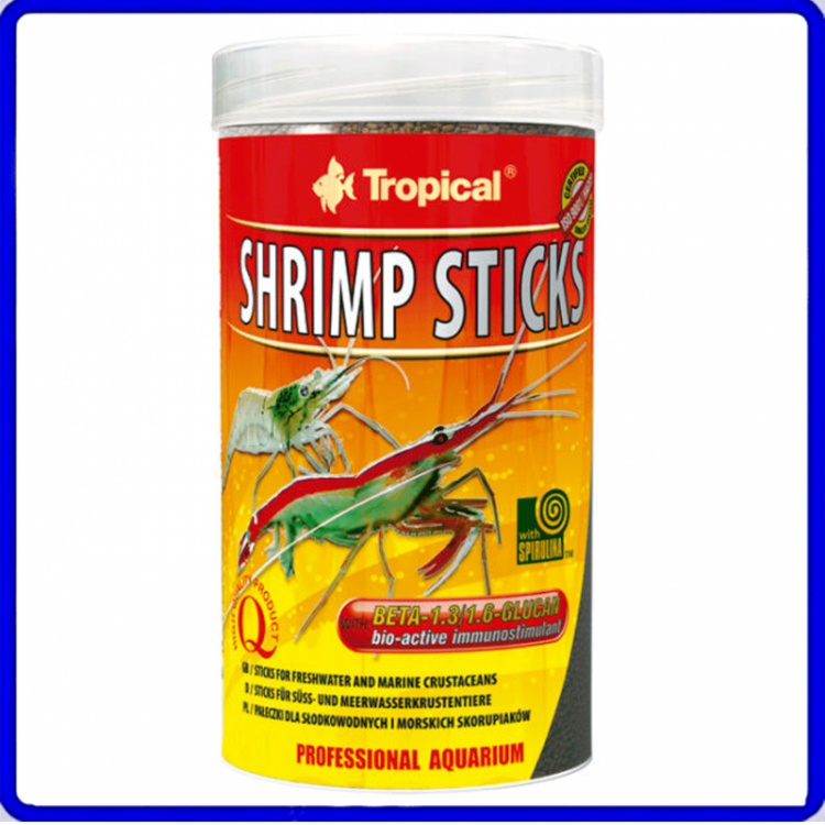 Tropical Ração Shrimp Sticks 55g