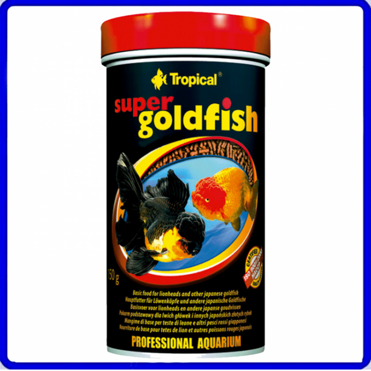 Tropical Ração Super Goldfish Mini Sticks 60g