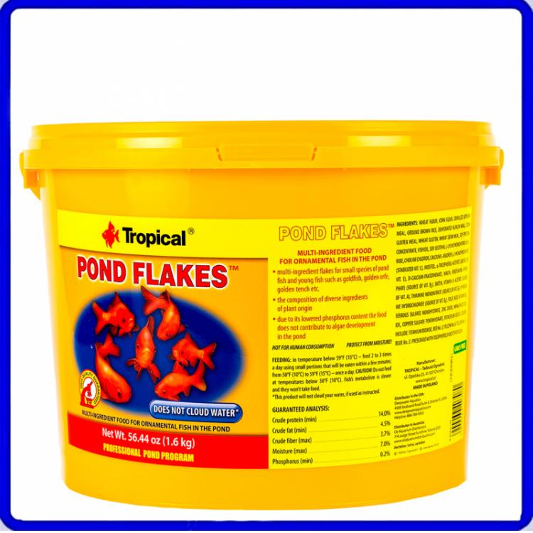 Tropical Ração Pond Flakes 1,6Kg