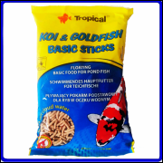 Tropical Ração Koi & Goldfish Basic Sticks 90g
