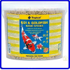 Tropical Ração Koi & Goldfish Basic Sticks 900g