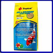 Tropical Ração Koi & Goldfish Basic Sticks 4Kg