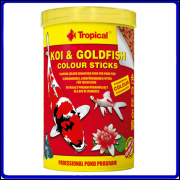 Tropical Ração Koi & Goldfish Colour Sticks 85g