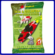 Tropical Ração Koi & Goldfish Vegetable Sticks 90g