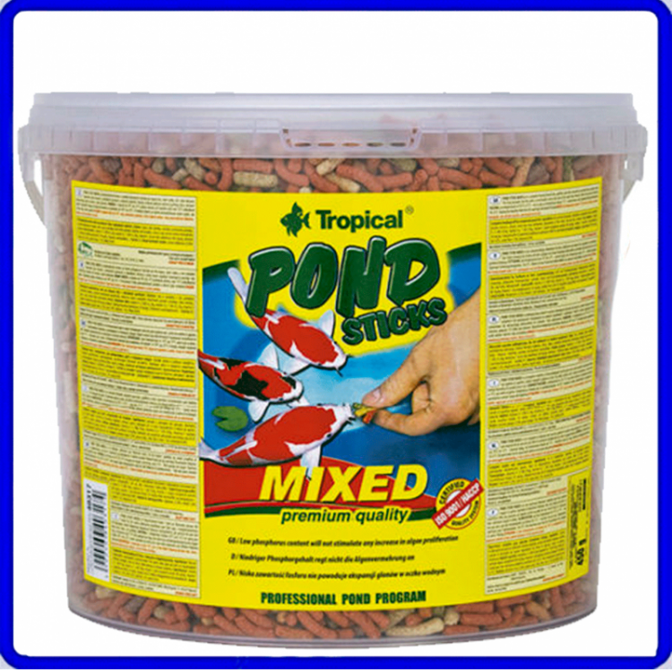 Tropical Ração Pond Sticks Mixed 900g