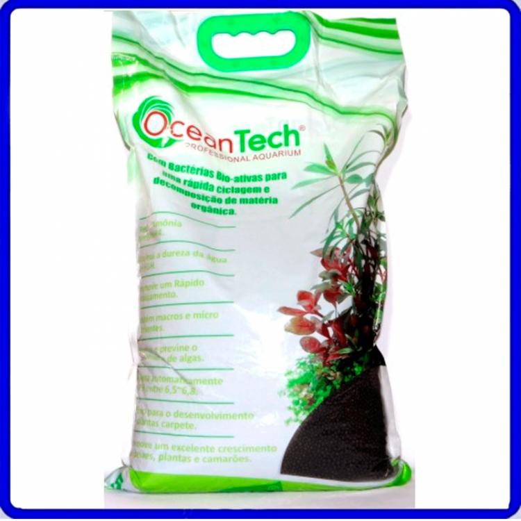 Substrato Fertil Plant Active Preto 5Kg Ocean tech