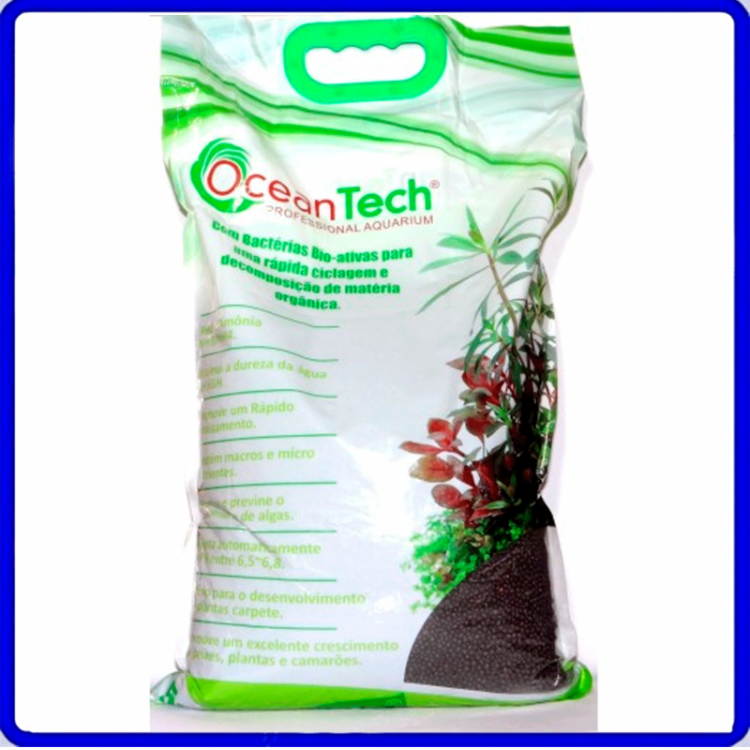 Substrato Fertil Plant Active Marrom 5Kg Ocean tech