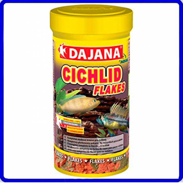 Dajana Ração Cichlid Flakes 50g
