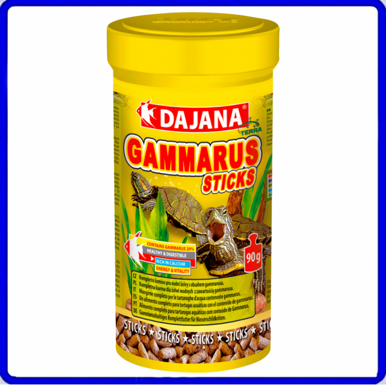 Dajana Ração Gammarus Sticks 90g