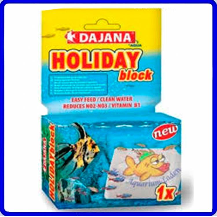 Dajana Ração Holiday Block 14 dias