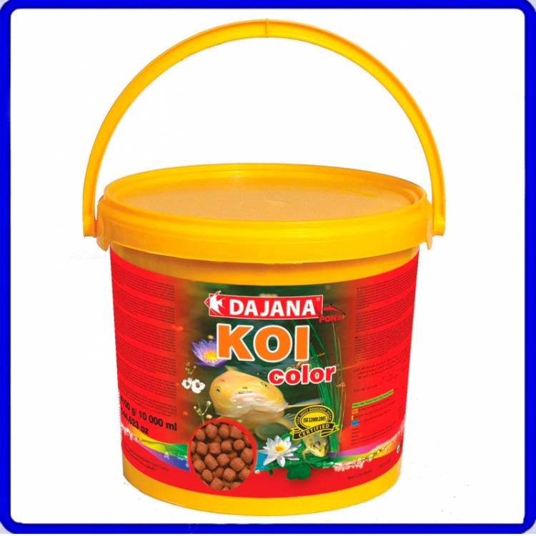 Dajana Ração Koi Color 3,6Kg