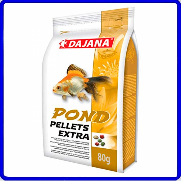 Dajana Ração Pond Pellets Extra 80g