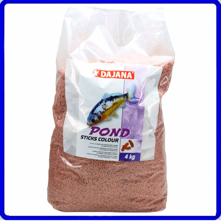 Dajana Ração Pond Sticks Colour 4Kg