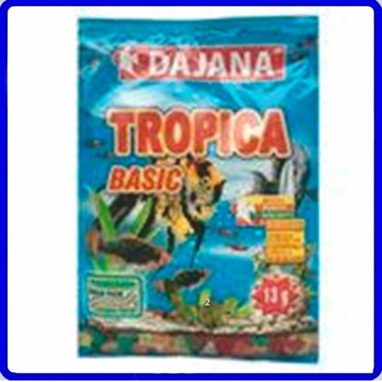 Dajana Ração Tropical Basic Flakes Sache 13g