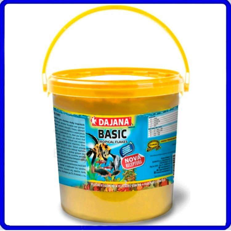 Dajana Ração Tropical Basic Flakes 1Kg
