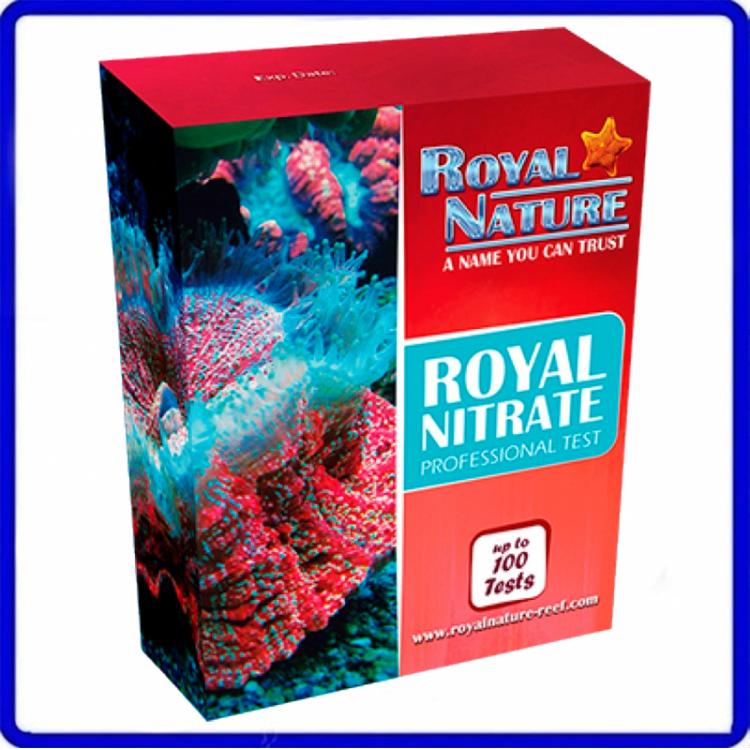 Teste Marinho De Nitrato Royal Nature 100 Testes