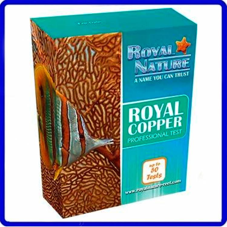 Teste Marinho De Cobre Royal Nature 50 Testes