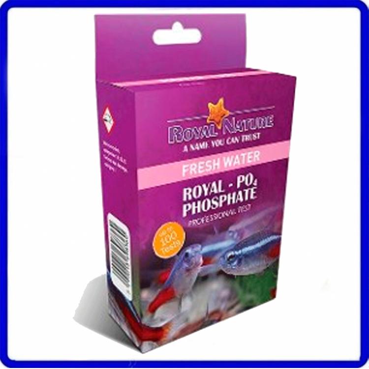 Teste Agua Doce De Fosfato Royal Nature 100 Testes