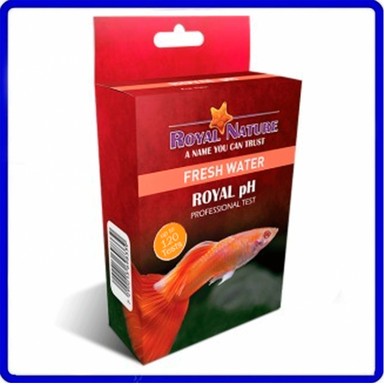 Teste Agua Doce De Ph Royal Nature 120 Testes