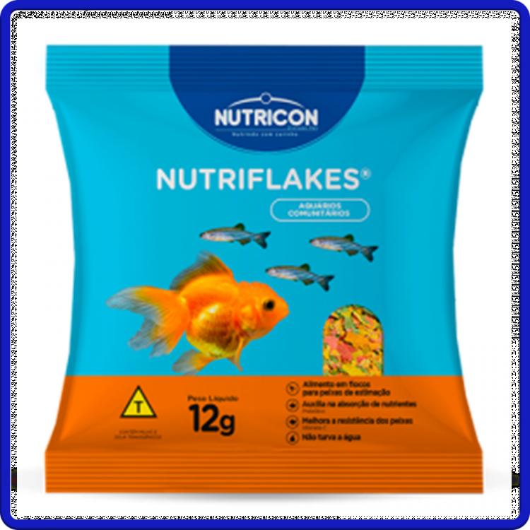 Nutricon Ração Nutriflakes 12g
