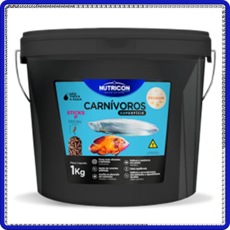 Nutricon Ração Carnivoros De Superficie P 1kg