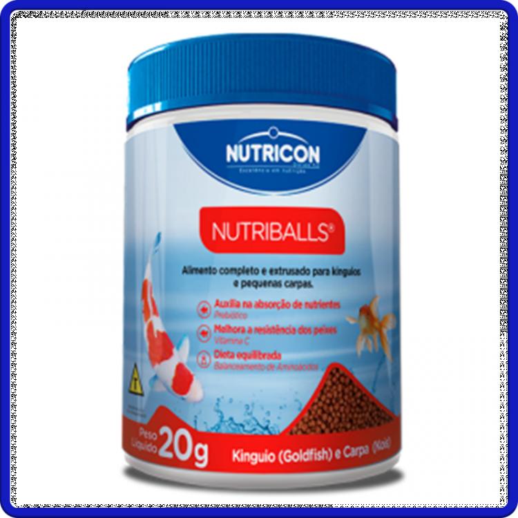 Nutricon Ração Nutriballs 20g