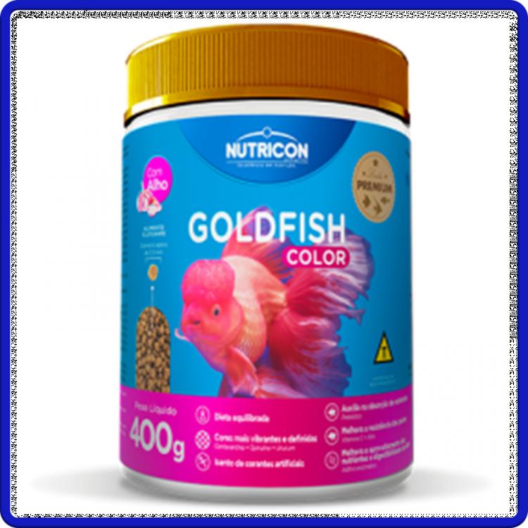 Nutricon Ração Goldfish Color 400g