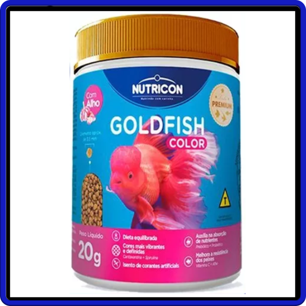 Nutricon Ração Goldfish Color 20g