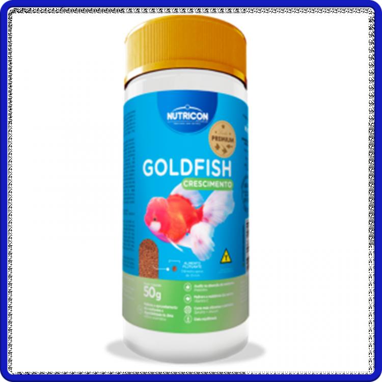 Nutricon Ração Goldfish Crescimento 50g