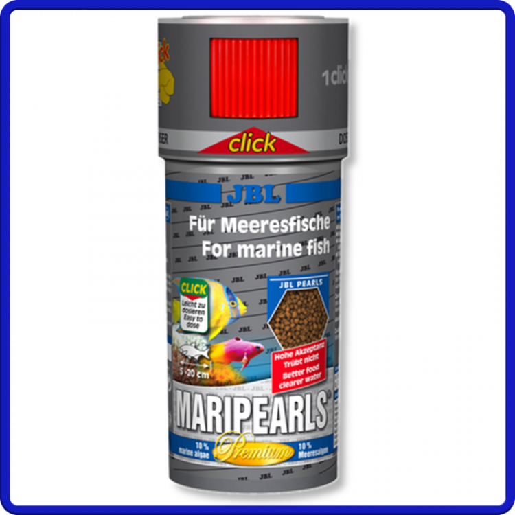 Jbl Ração Maripearls Click 140g 250ml