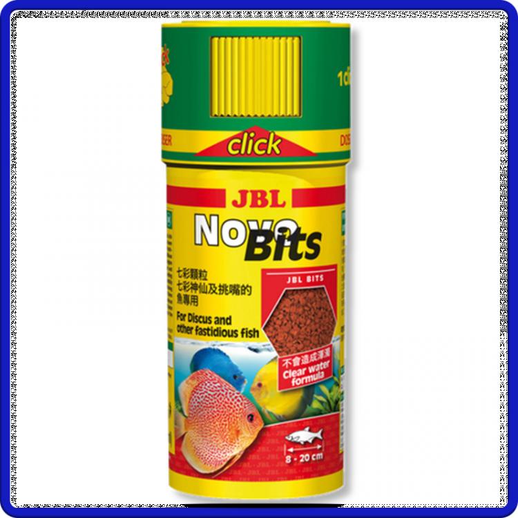 Jbl Ração Novobits Clik 110g 250ml
