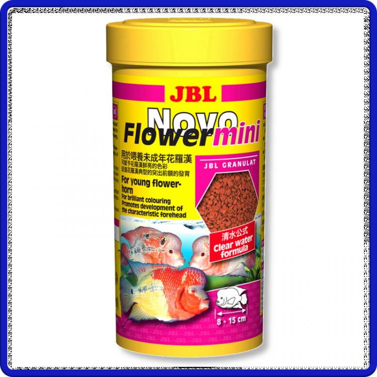 Jbl Ração Novoflower Mini 110g 250ml