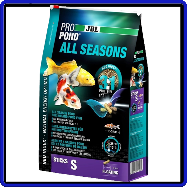 Jbl Ração Propond All Seasons S 0,18kg / 180g