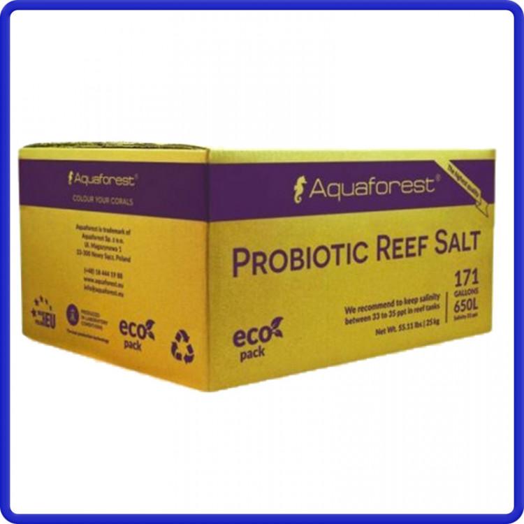 Aquaforest Sal Sintetico Probiotic Reef Salt 25kg