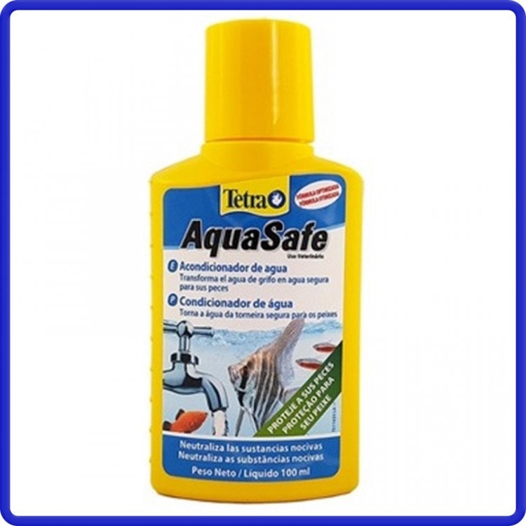 Tetra Condicionador Aquasafe 100ml