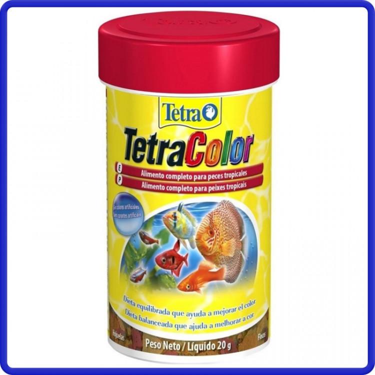 Tetra Ração Color Flakes 20g