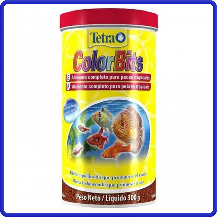Tetra Ração Colorbits Granulat 300g