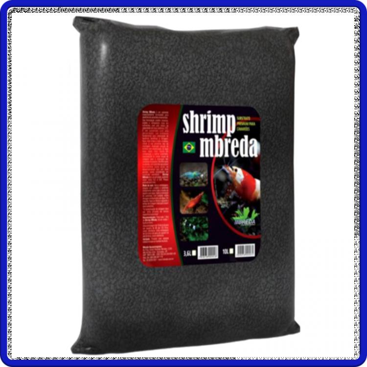 Mbreda Substrato Shrimp Camaroes 10L