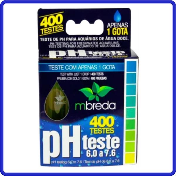 Mbreda Teste De Ph Doce 400 Testes 6.0 A 7.6