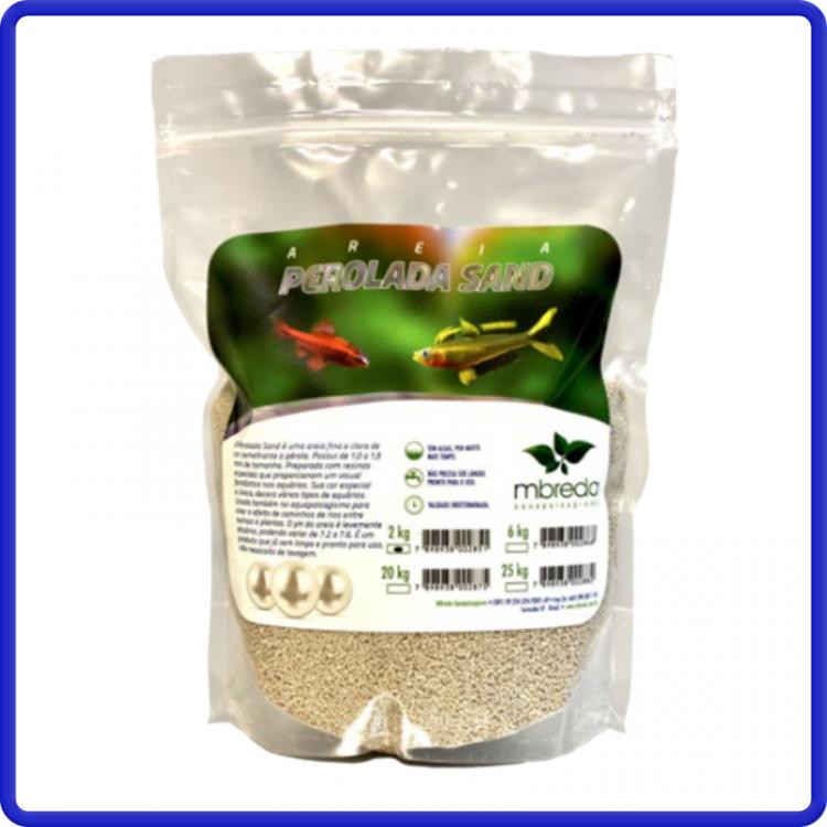 Mbreda Areia Perolada Sand 2kg Ph 7,0 - 7,4