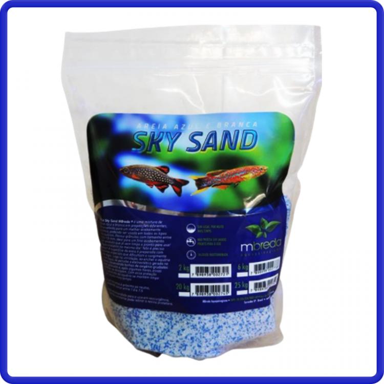 Areia Sky Sand 2kg Mbreda Ph 7,2 - 7,6