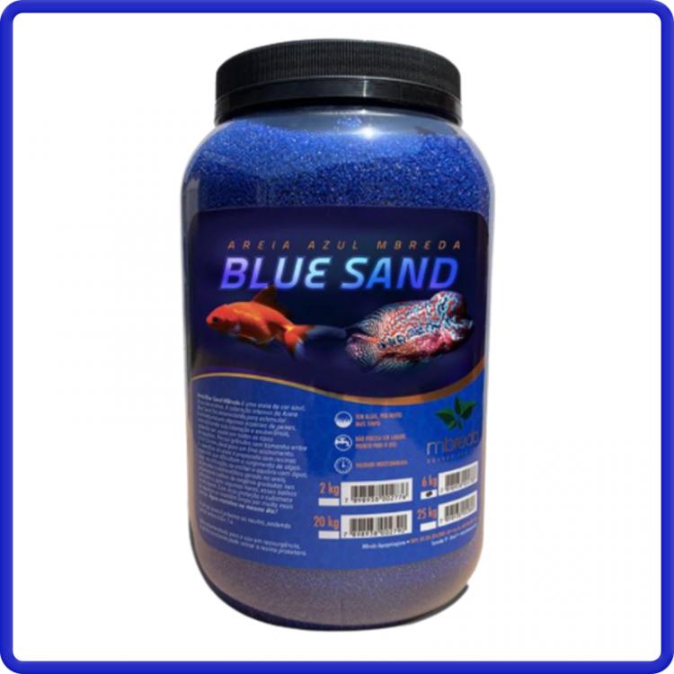 Mbreda Areia Blue Sand 6kg Ph 7,2 - 7,6