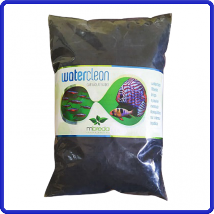 Mbreda Carvao Ativado Waterclean Refil 500g