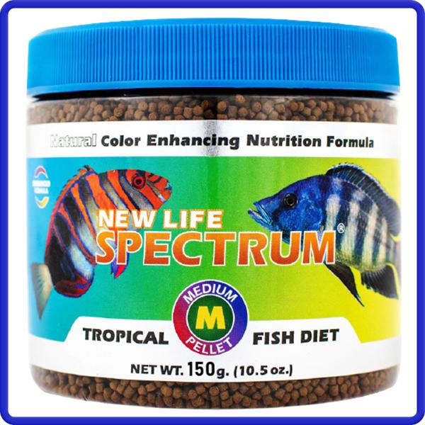 New Life Spectrum NLS Naturox Tropical Fish 150g Dia a dia