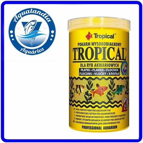 Ração Tropical Flakes 100g Tropical