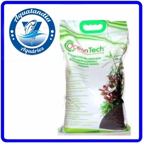 Substrato Fertil Plant Active Marrom 5kg Ocean Tech